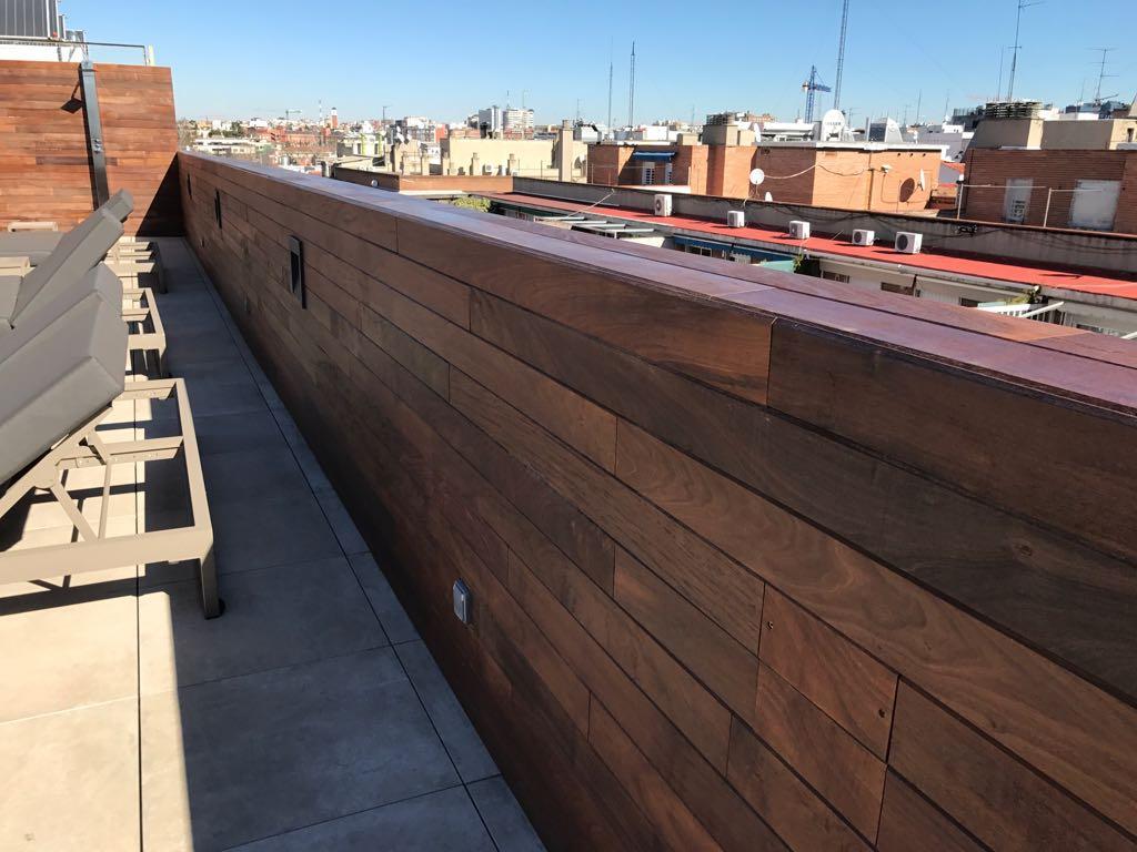 Empresa de madera para exterior